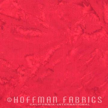 Hoffman Fabrics Batik Watercolors 1895-67 Flame