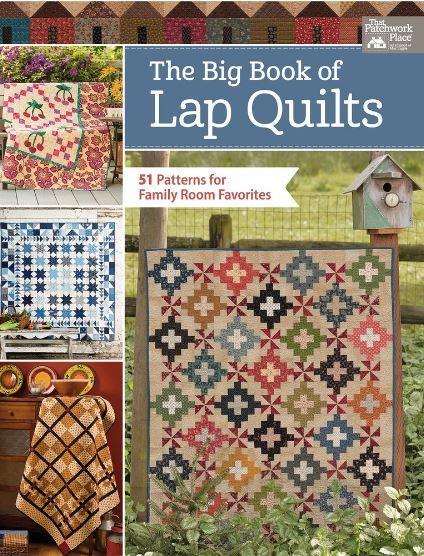 Martingale Big Books of Lap Quilts - 51 Patterns for Family Room Favorites TPPB1488