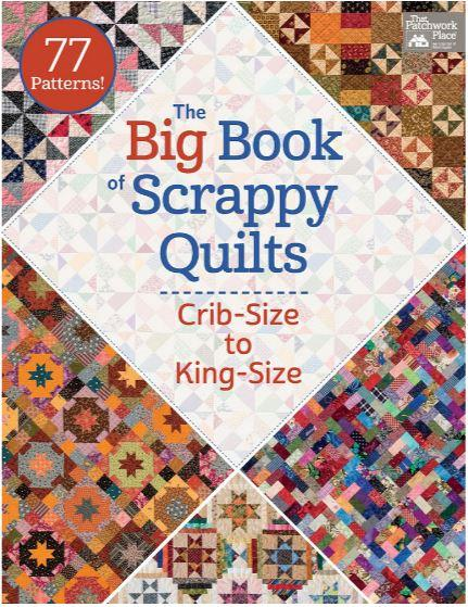 Martingale Publishing The Big Book of Scrappy Quilts: Crib-Size to King-Size B1331T