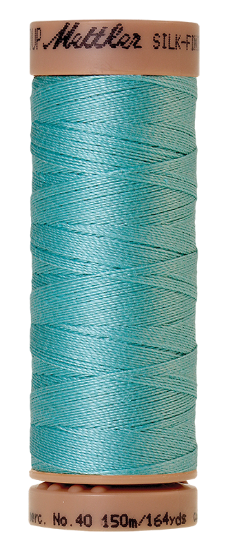 Mettler Silk Finish Cotton 40 164 Yds Color 9136-2792 Blue Curacao