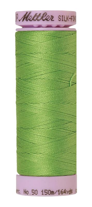 Mettler Silk Finish Cotton 50 164 Yds Color 9105-0092 Bright Mint