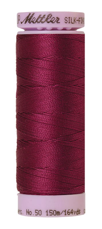 Mettler Silk Finish Cotton 50 164 Yds Color 9105-0157 Sangria