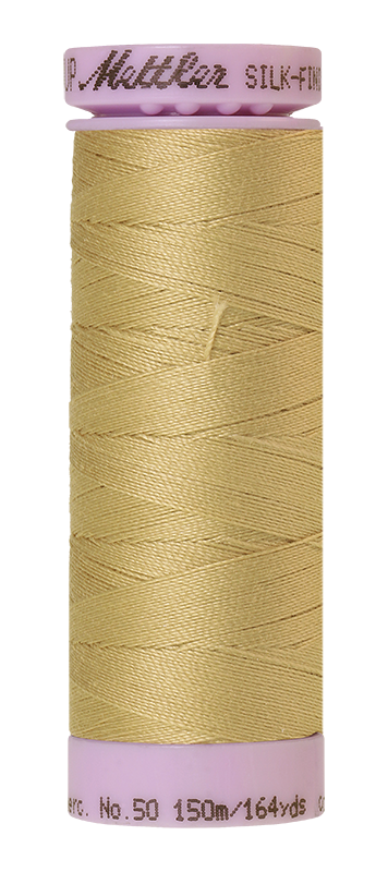 Mettler Silk Finish Cotton 50 164 Yds Color 9105-0857 New Wheat