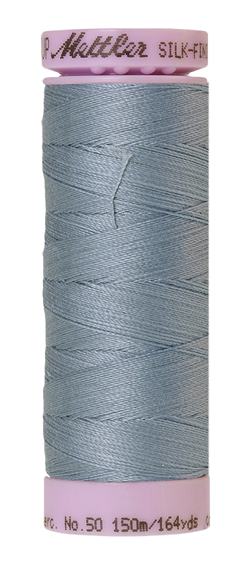 Mettler Silk Finish Cotton 50 164 Yds Color 9105-1342 Blue Speedwell