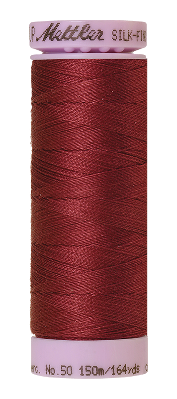 Mettler Silk Finish Cotton 50 164 Yds Color 9105-1461 Claret