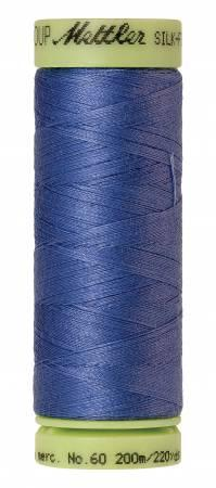 Mettler Thread Silk Finish Cotton 60 wt. 220 yds. 9240-1464 Tufts Blue