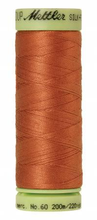Mettler Thread Silk Finish Cotton 60 wt. 220 yds. 9240-2103 Amber Brown