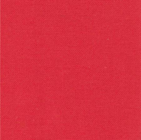 Moda Fabrics Bella Solids 9900-123 Betty's Red