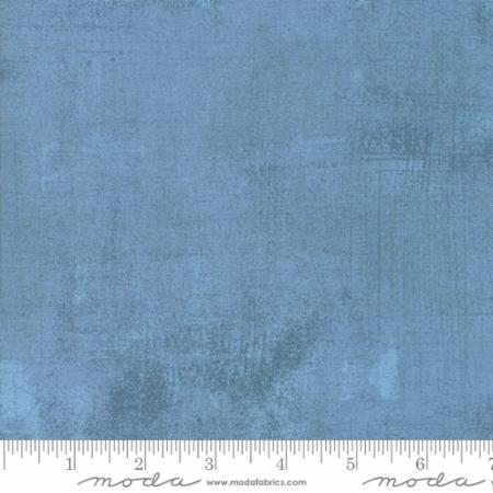 Moda Fabrics Grunge Basics by BasicGrey 30150 387 Faded Denim