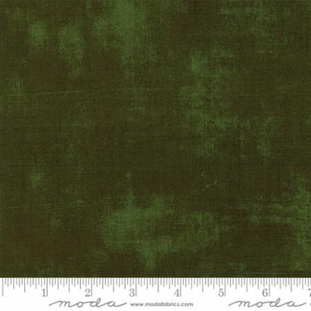 Moda Fabrics Grunge Basics by BasicGrey 30150 394 Rifle Green