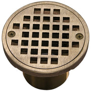 "4"" Round Adjustable Grate - Balcony Drains - Copperlab"