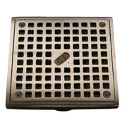 "5"" x 5"" Square Adjustable Grate - Balcony Drains - Copperlab"