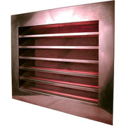 Copper Louvered Gable End Vent - Wall Vents - Copperlab