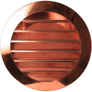 Copper Round Circle Louver Gable Wall Vent - Wall Vents - Copperlab