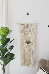 Hanging Macrame Plant Holder