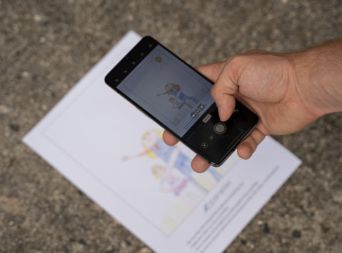 Using your phone as a scanner