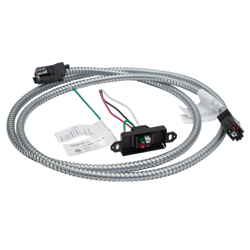Cool Hardwired Power Outlet With Dual Quick Connect Power In Feed Cable Wiring Database Rimengelartorg