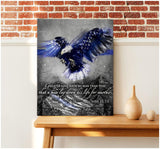 Zalooo Greater Love Police Wall Art Canvas