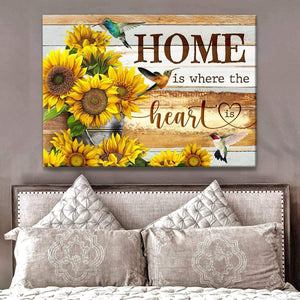 Zalooo Home Hummingbird Wall Art Canvas