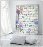 Zalooo My Mind Still Talks To You Dragonfly 3 Wall Art Canvas