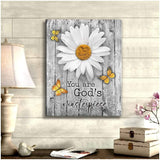 Zalooo You Are God'S Masterpiece Butterfly Wall Art Canvas