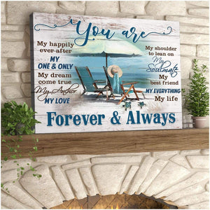 Zalooo You are Turtle Wall Art Canvas