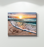 Zalooo With You Turtle Wall Art Canvas