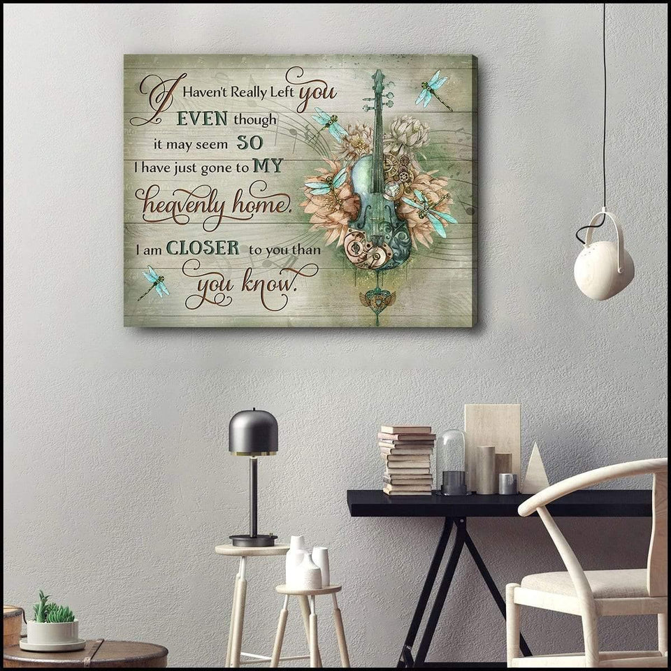 Zalooo You Know Dragonfly Wall Art Canvas