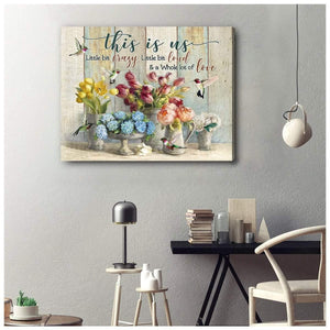 Zalooo This Is Us Hummingbird Wall Art Canvas