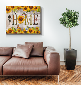 Canvas Hummingbird Home