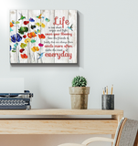 Canvas Hummingbird Make The Most Of Everyday