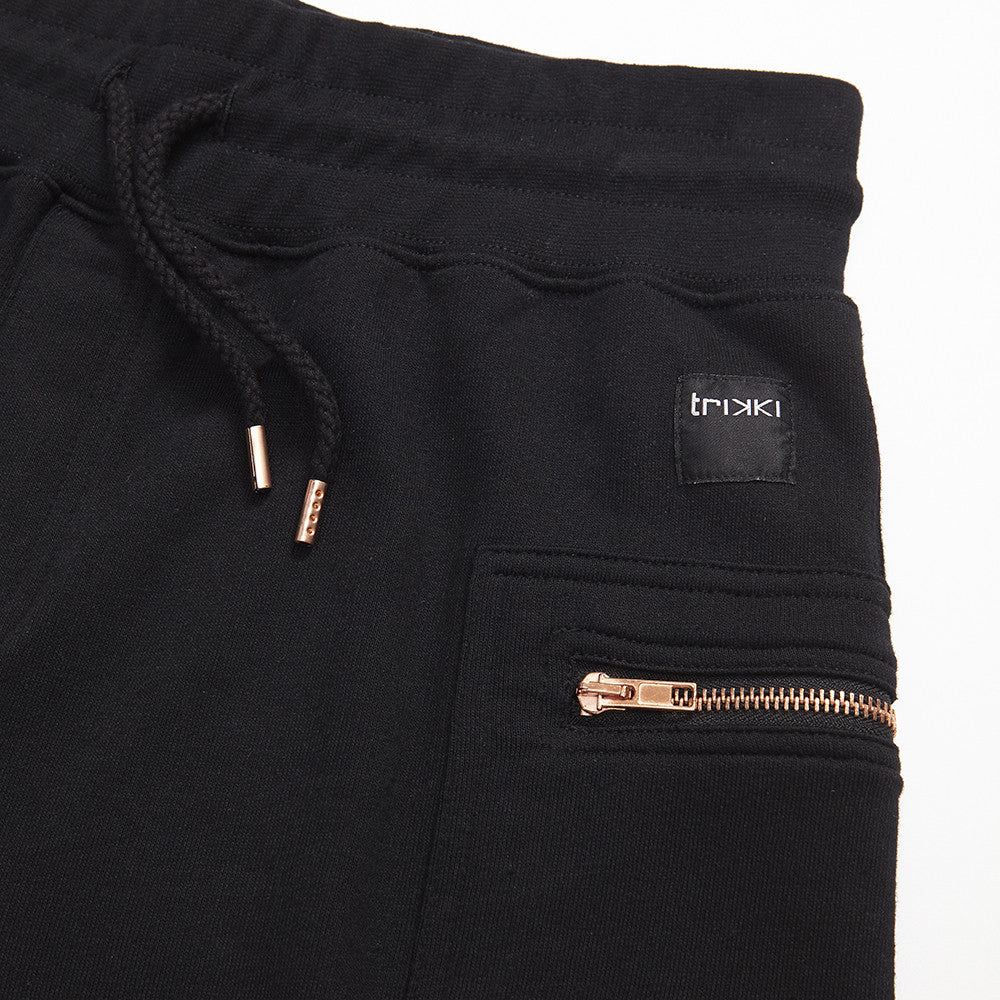 3Q : joggings : black