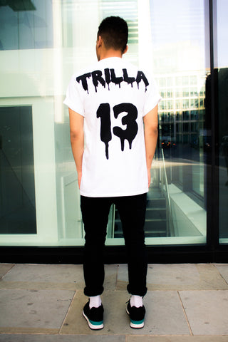 TRILLA : t-shirt : white