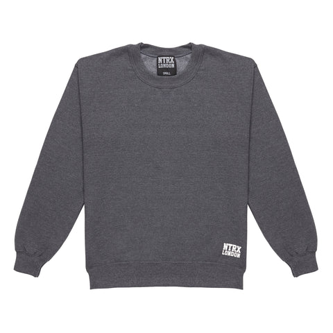 Premium Streetwear : Streetwear : NTRX LONDON : Notorious : Sweatshirt : Charcoal