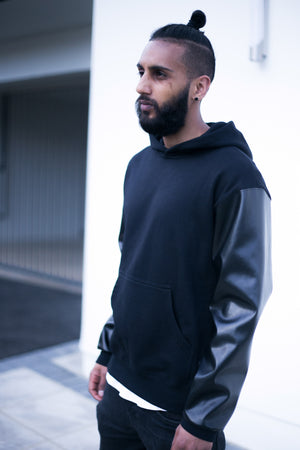 GOOD HOOD : hoody : black
