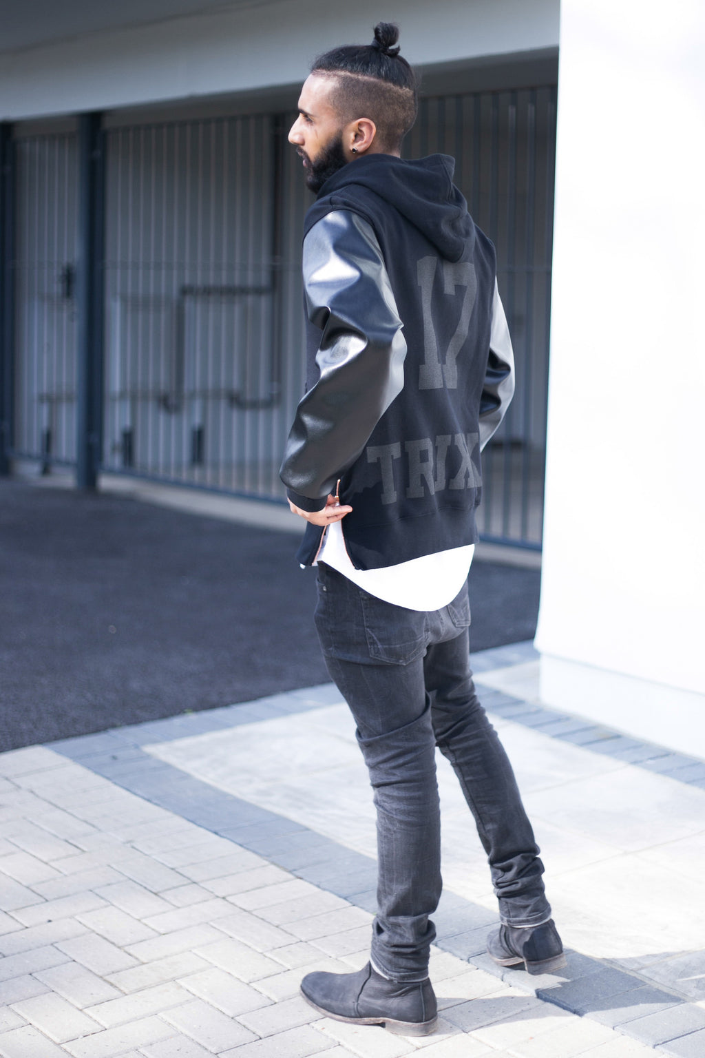 FREEZ : hoody : black