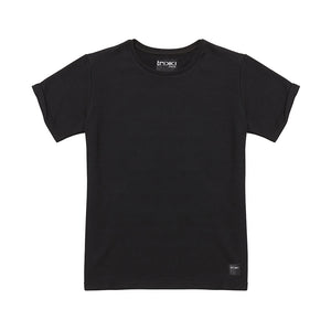 SHORTY : sweatshirt / t-shirt : black