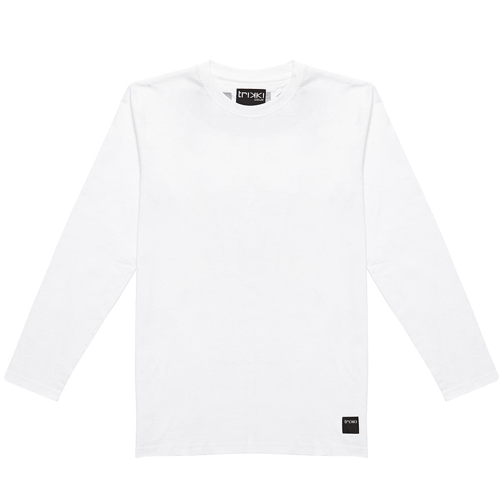 STRIKE : long sleeve t-shirt : oversized : white