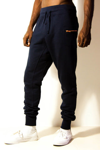 SLOW : joggings : navy