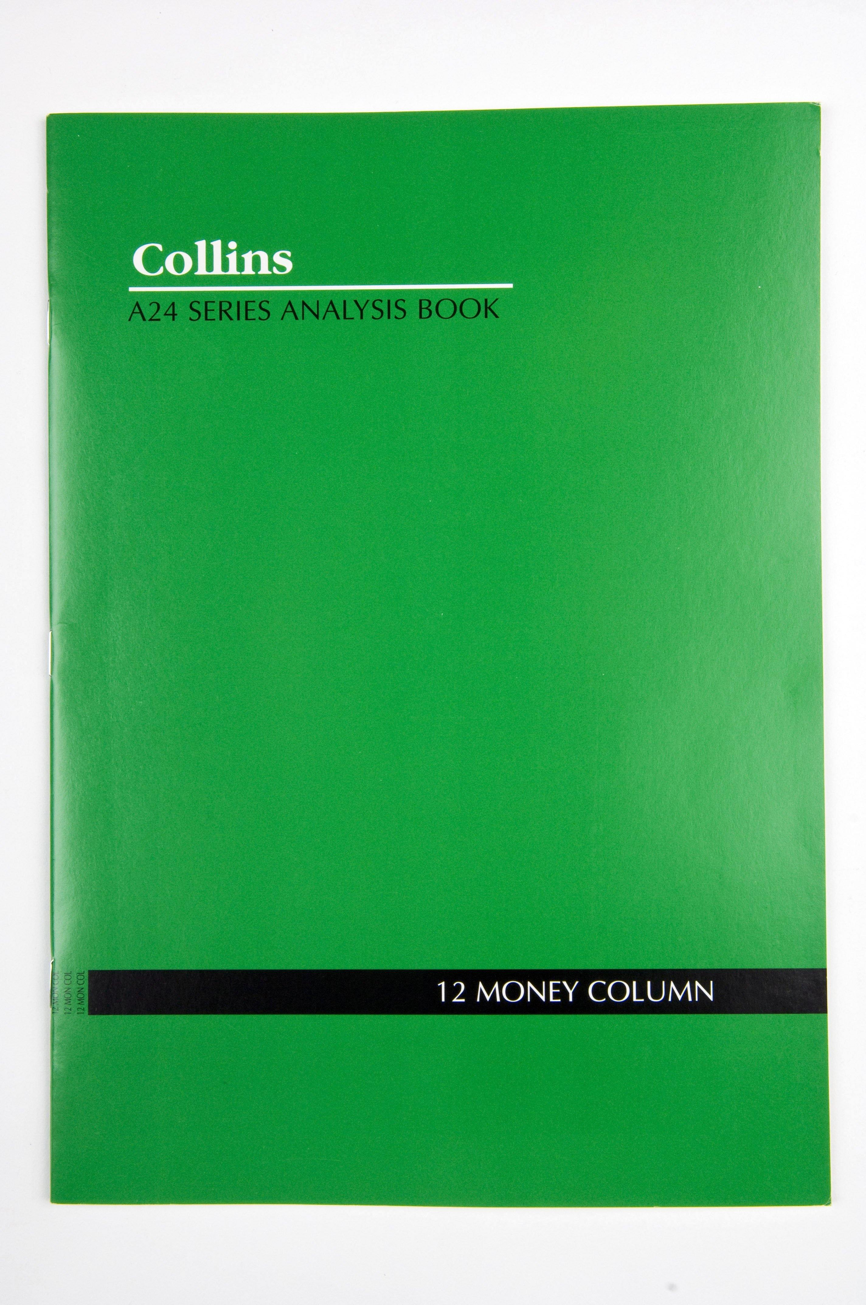 "Analysis Book Series ''A24""12 Money Column"