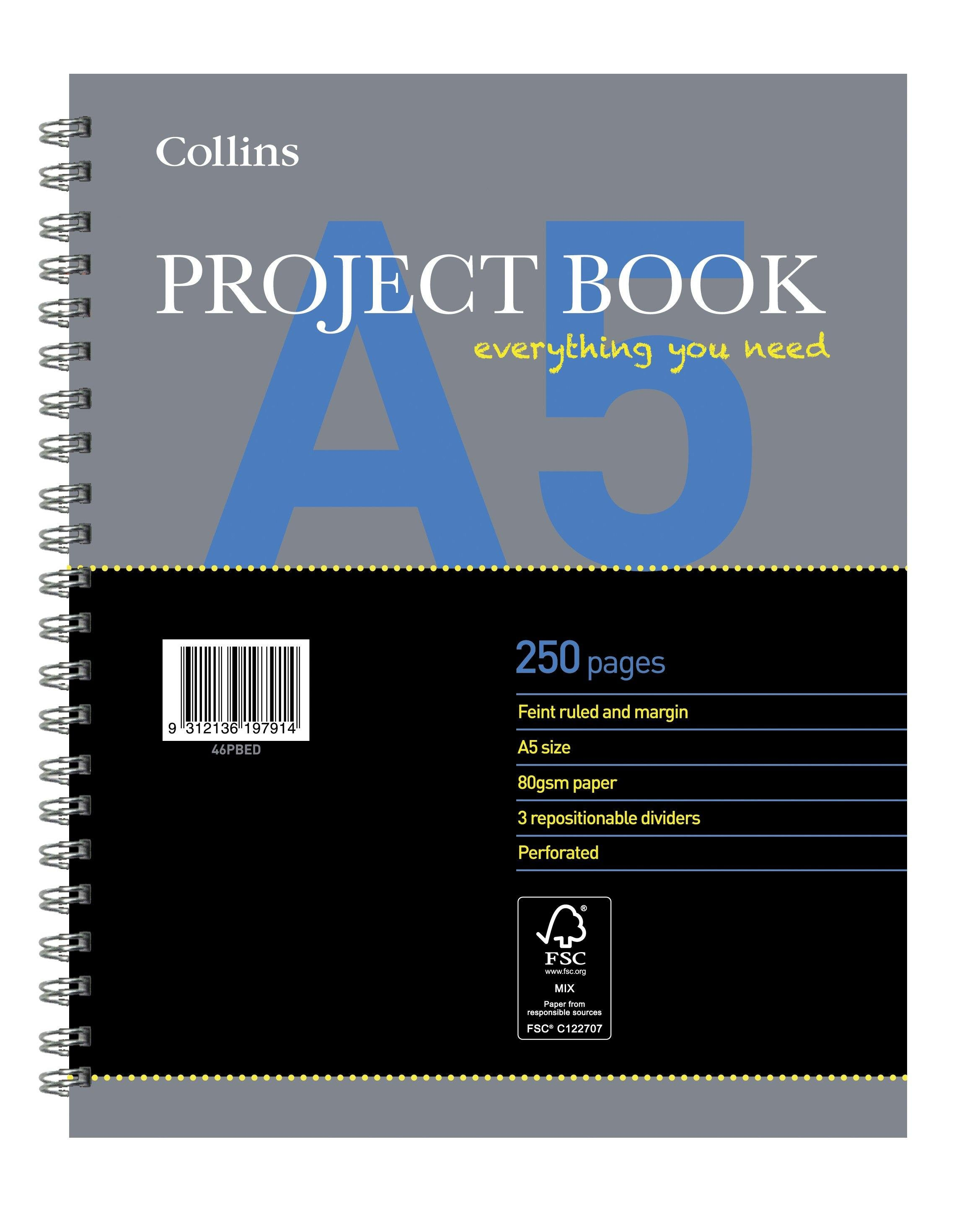 A5 Project Book