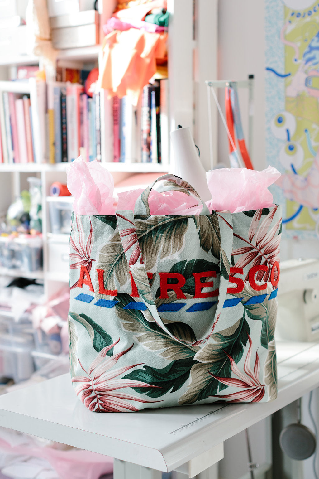 Al Fresco Shopper Bag