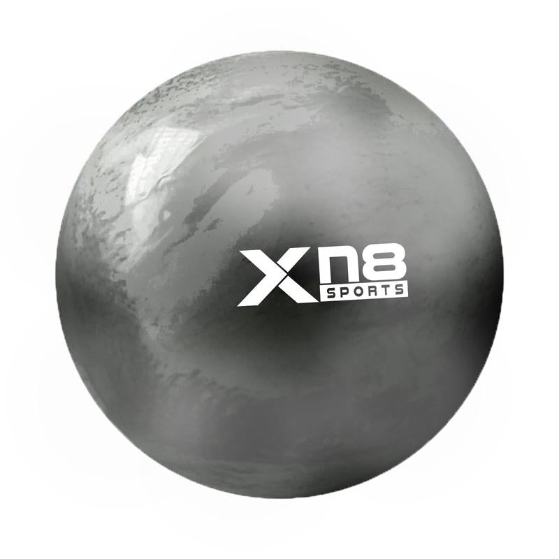 Xn8 Sports Large Gym Ball Black Rainbow Color