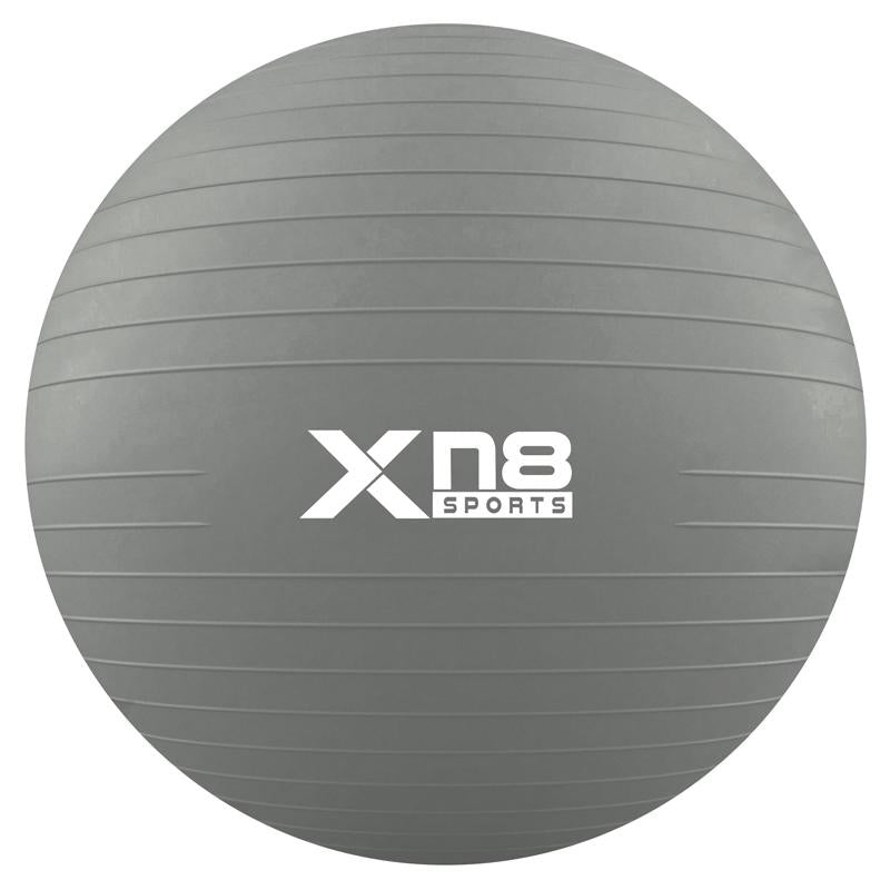 Xn8 Sports Exercises For Gym Ball Grey Color
