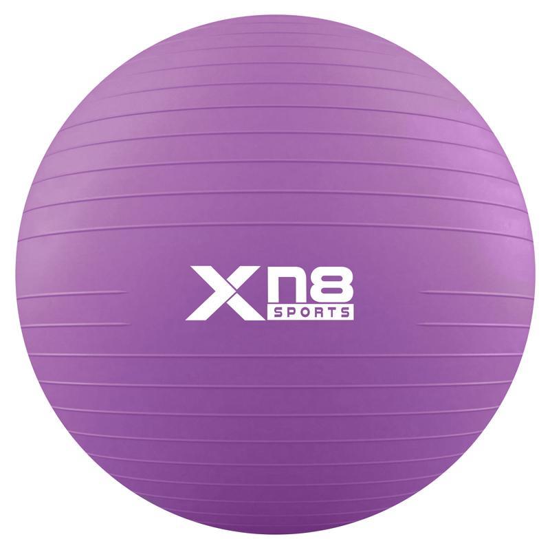Xn8 Sports Gym Ball Chair Purple Color