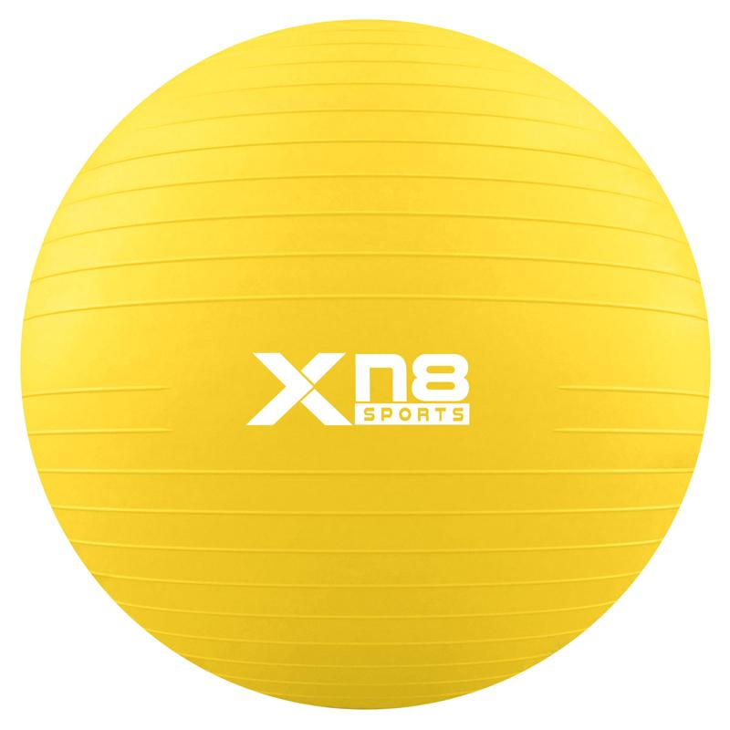 Xn8 Sports Anti Burst Gym Ball Yellow Color