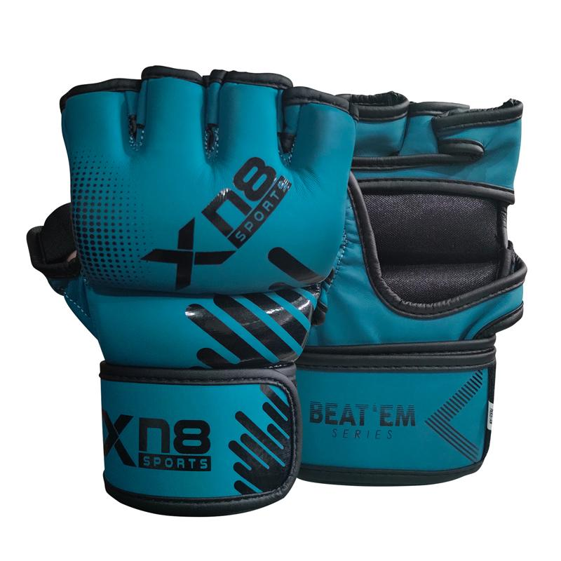 Xn8 Sports Boxing MMA Gloves Blue