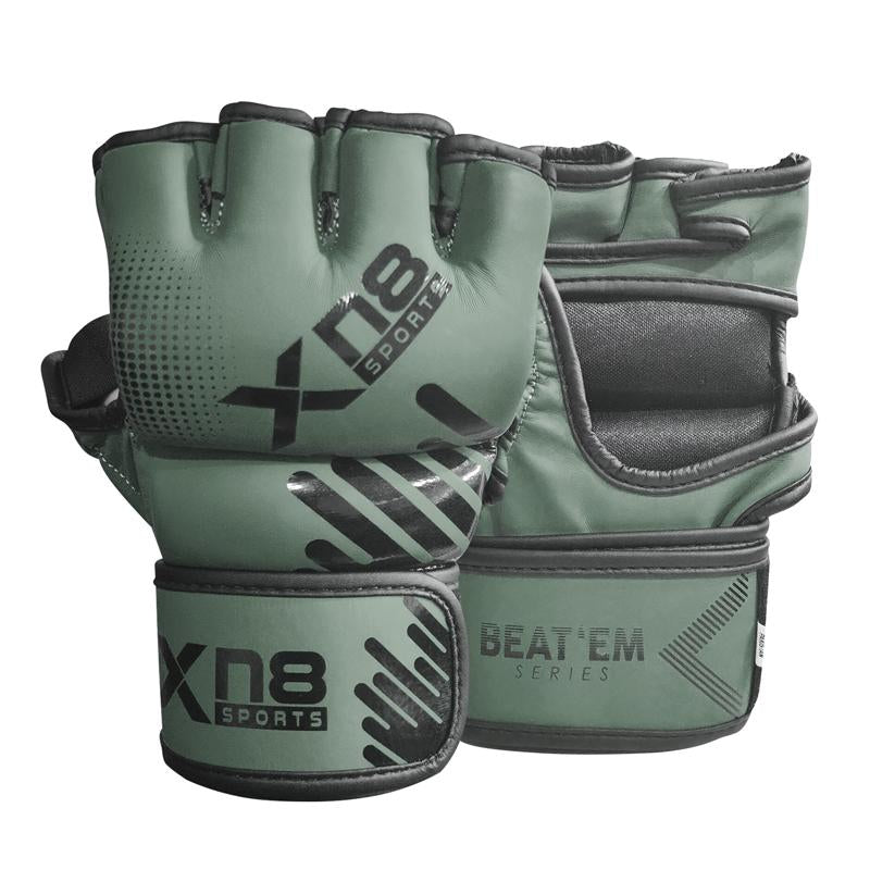 Xn8 Sports Best MMA Gloves Grey Color