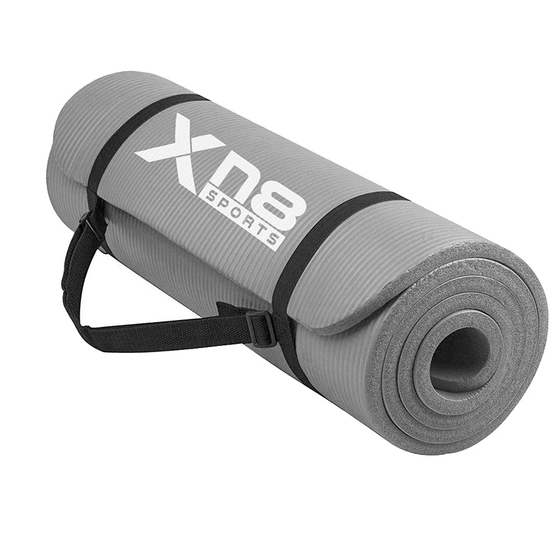 Xn8 Sports Yoga Mat Grey