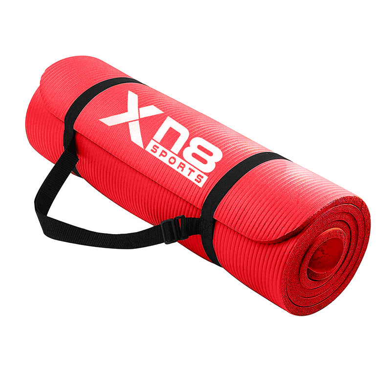 Xn8 Sports Thickest Yoga Mat Red